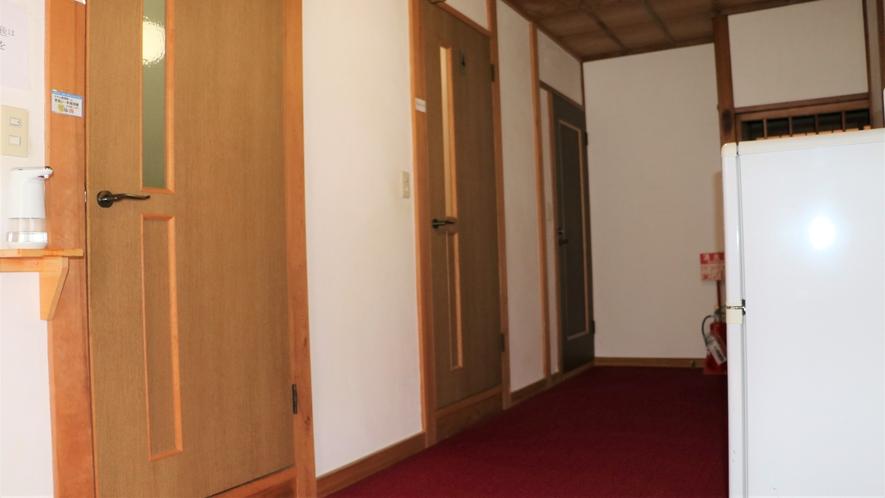 2階共有冷蔵庫