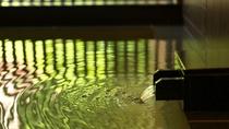 ◆湯処[命泉の湯]/ニセコの森と湯の香りを満喫しながら、至福の湯浴みをお愉しみください。