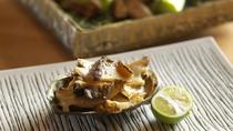 ◆ご夕食/特別会席「鉄板焼会席」新鮮な魚介・肉・野菜を目の前で調理(ある日の一例)