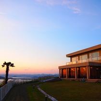 天気が良ければ九州の国東までも見渡せますよ!