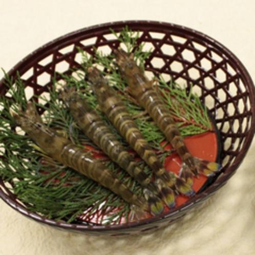秋穂は養殖クルマエビ発祥の地。大切に育てられた良質な車えびが名物です。