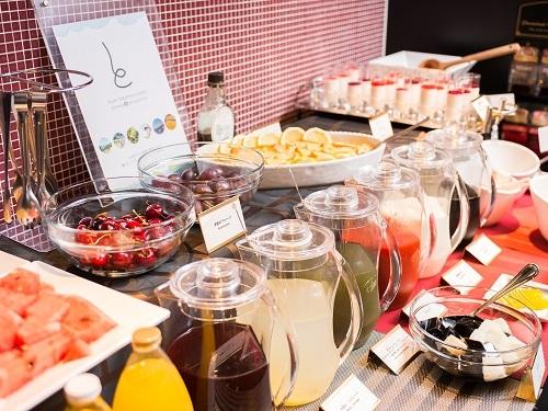 朝食デザ−トカウンタ−〈イメ−ジ〉