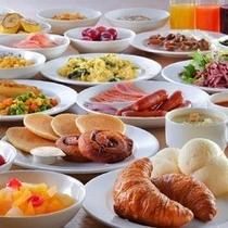 ワシントンホテルこだわりの朝食【洋食イメージ】