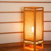 【お部屋】備品一例 ライト