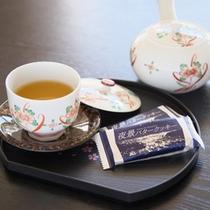 【お部屋】過ごし方一例 お茶とお菓子でおもてなし