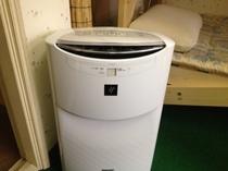客室の空気清浄機