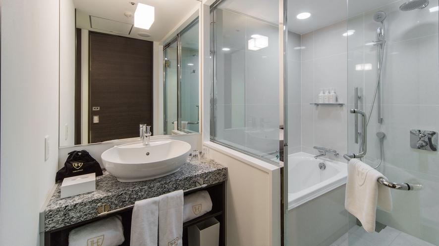 ◆デラックスツイン バスルーム
