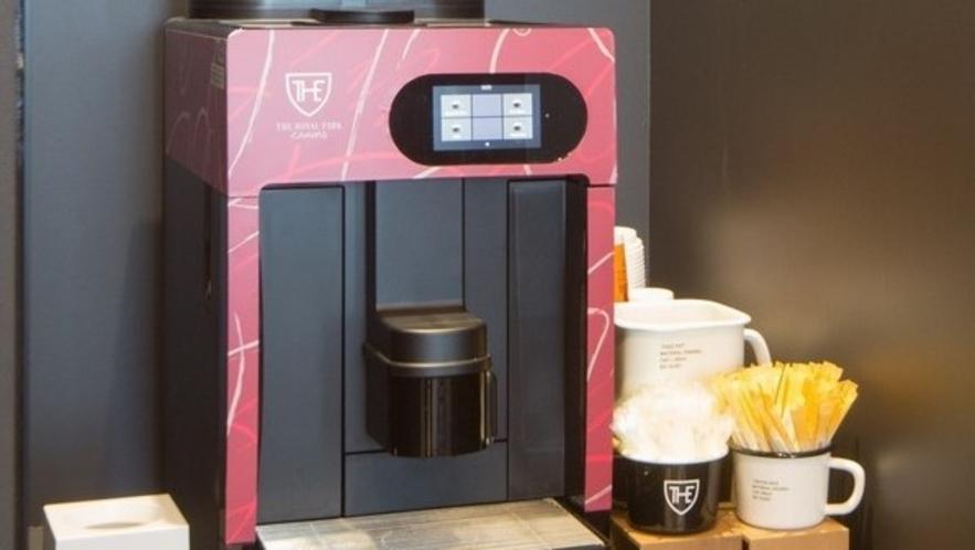 ◆CANVAS LOUNGE コーヒーマシン