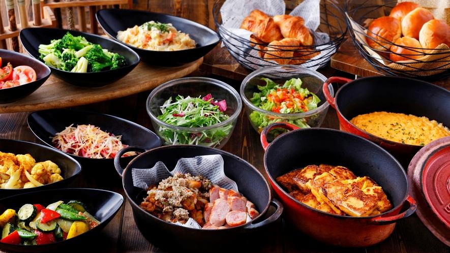 ◆軽朝食ビュッフェ