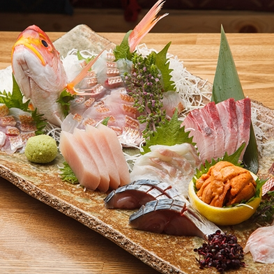 【魚】く・)))彡♪お刺身の盛り合わせプラン♪ ずばり!★く・)))彡★大好きな方におススメ!