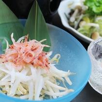 桜エビと白魚のあっさり鍋