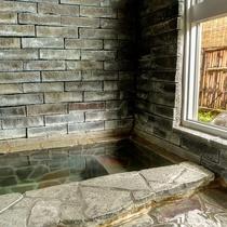 【源泉かけ流し】無料貸切風呂「いしの湯」