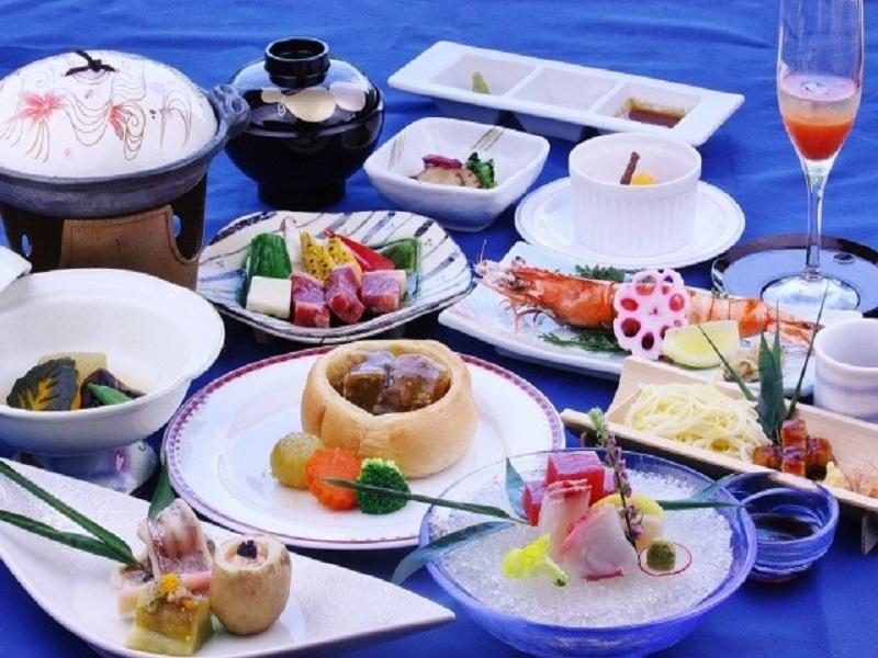 夏のご夕食一例