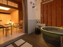 露天風呂付客室 和室10畳(1階)