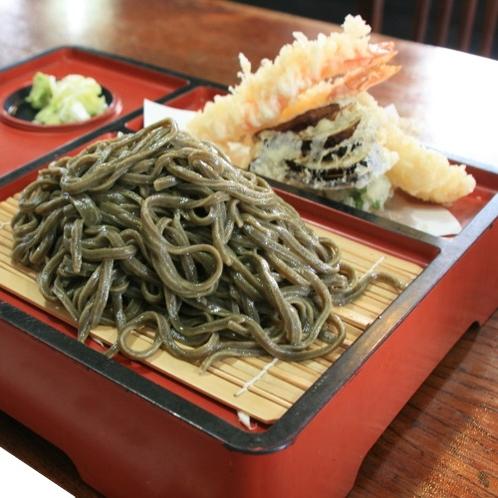 東松島名物「天ざるのりうどん」_ちゃんこ萩乃井さんでお召し上がりいただけます♪