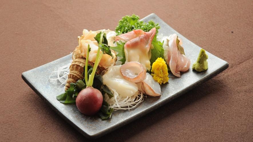 【特選夕食の一例】新鮮な海の幸