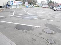 【駐車場】屋外無料駐車場50台完備