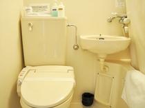 【バス・トイレ】シャワートイレです。
