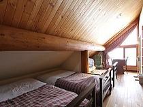 【2〜3名】3ベッドルーム ※+1ベッド(簡易ベッド)も可能