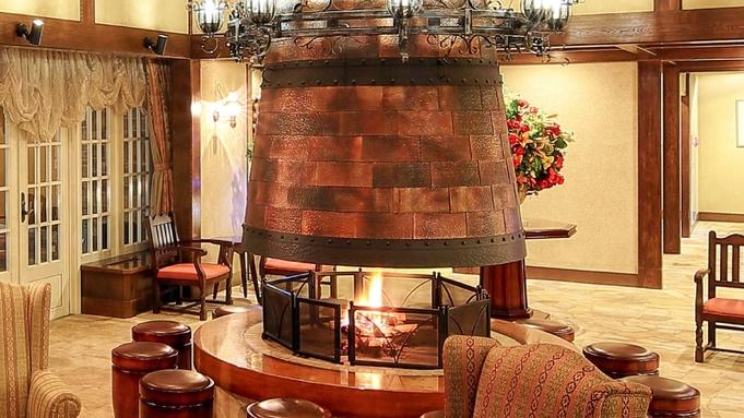 【11/20〜12/25】クリスマスデザート+暖炉でドリンク+チェックアウト後の入浴OK≪2食付き≫