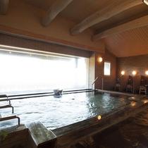 広々とした大浴場内風呂