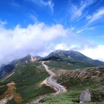 夏 乗鞍岳雲上のスカイライン