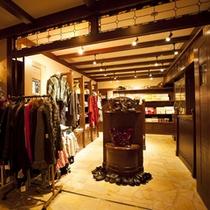 ショップ 地域のお土産や衣料品など数多く取り揃えております