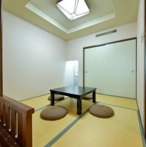 和洋室の畳スペース