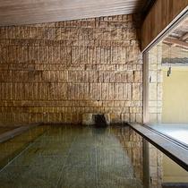 *【大浴場・男湯】内湯・露天風呂ともに道後温泉の御湯をお楽しみいただけます。