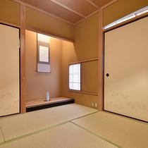 *【デラックススイート・海棠】8畳+4.5畳+控2畳のお部屋です。