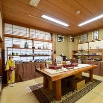 *【お土産処】大和屋オリジナルグッズから松山の名品まで様々なお土産をご用意しております。