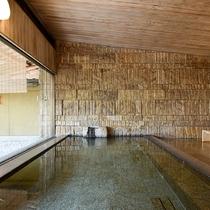 *【大浴場・女湯】内湯・露天風呂ともに道後温泉の御湯をお楽しみいただけます。