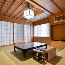 *【ベッドスイート・山茶花】8畳+寝室6畳+控4畳