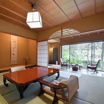 *【スーペリア・橘】8畳+控1.5畳+化粧室2畳のお部屋です。