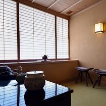 *【プレミアベッドスイート・沈丁花】茶室スペース