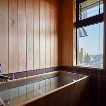 *【お部屋風呂】全室に道後温泉の御湯を引いたお部屋風呂がございます。