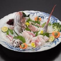 *【別注・鯛のお造り】松山名物の鯛をお造りにてご用意承ります。