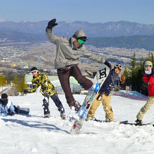 *伊那スキーリゾート ドリームコース