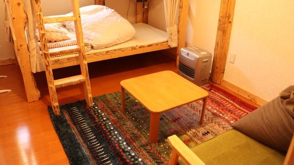 個室 手作り2段ベッド