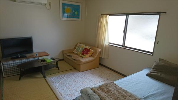 5部屋全室和室(ベッドの部屋もあります)
