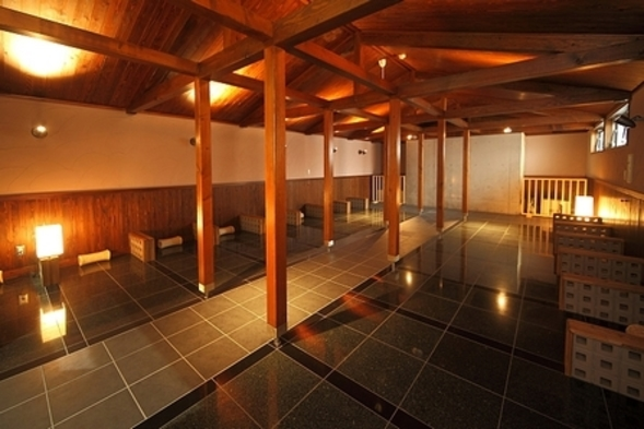 ◆ラドン岩盤浴付◆ 【お正月プラン 12/31〜1/2】  (1泊2食付)