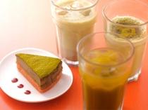 1階musubi cafe/抹茶スムージー