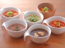 1階musubi cafe/自慢のスープ