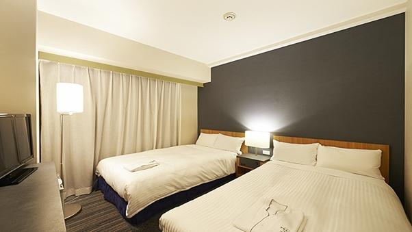 ツイン☆禁煙☆110cm幅ベッド2台<16.5平米>