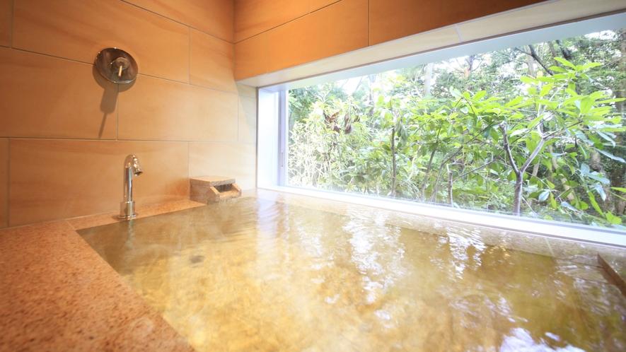 森の見える内風呂付き 和洋室ツイン