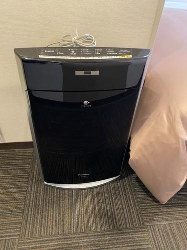 全室加湿機能付き空気清浄機がございます。
