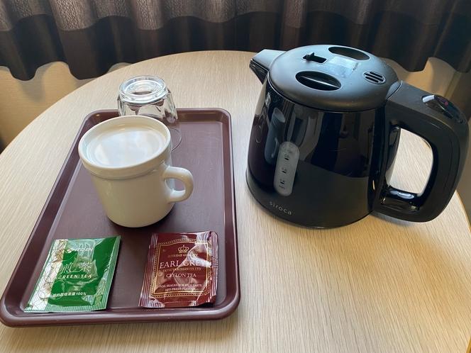 ティーセット(煎茶・紅茶)