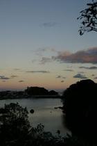 夕暮れ安楽島湾縦位置