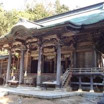 金華山参拝殿