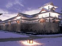 ◎雪の金沢城